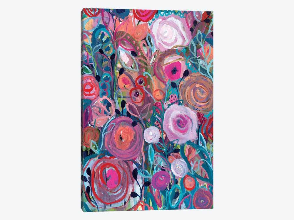 Floral Forest by Carrie Schmitt 1-piece Canvas Art Print
