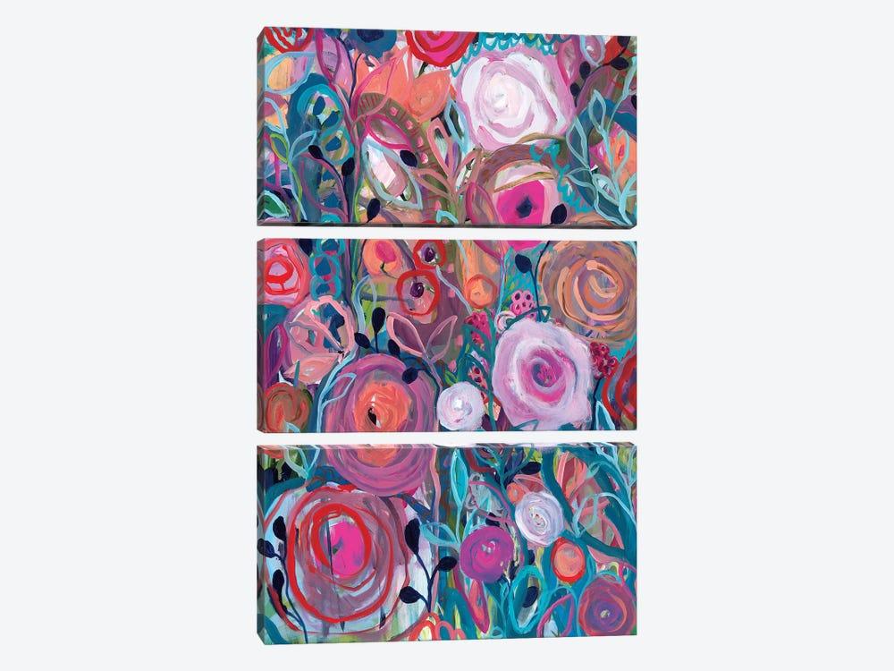 Floral Forest by Carrie Schmitt 3-piece Art Print