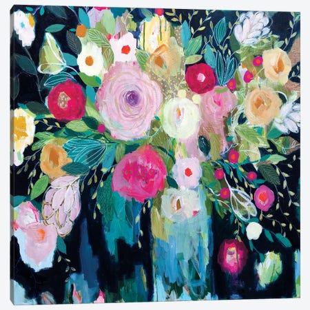 Follow The Roses Canvas Print #SMT56} by Carrie Schmitt Canvas Artwork