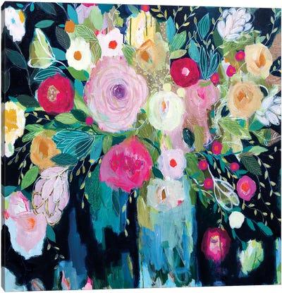 Follow The Roses Canvas Art Print