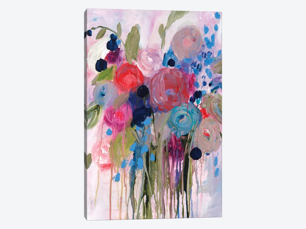 Fresh Bouquet by Carrie Schmitt 1-piece Canvas Artwork