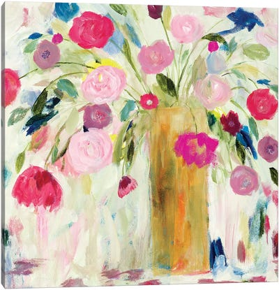 Friendship Blooms Canvas Art Print