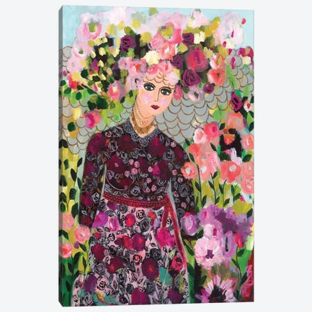 Garden Goddess Canvas Print #SMT60} by Carrie Schmitt Canvas Art