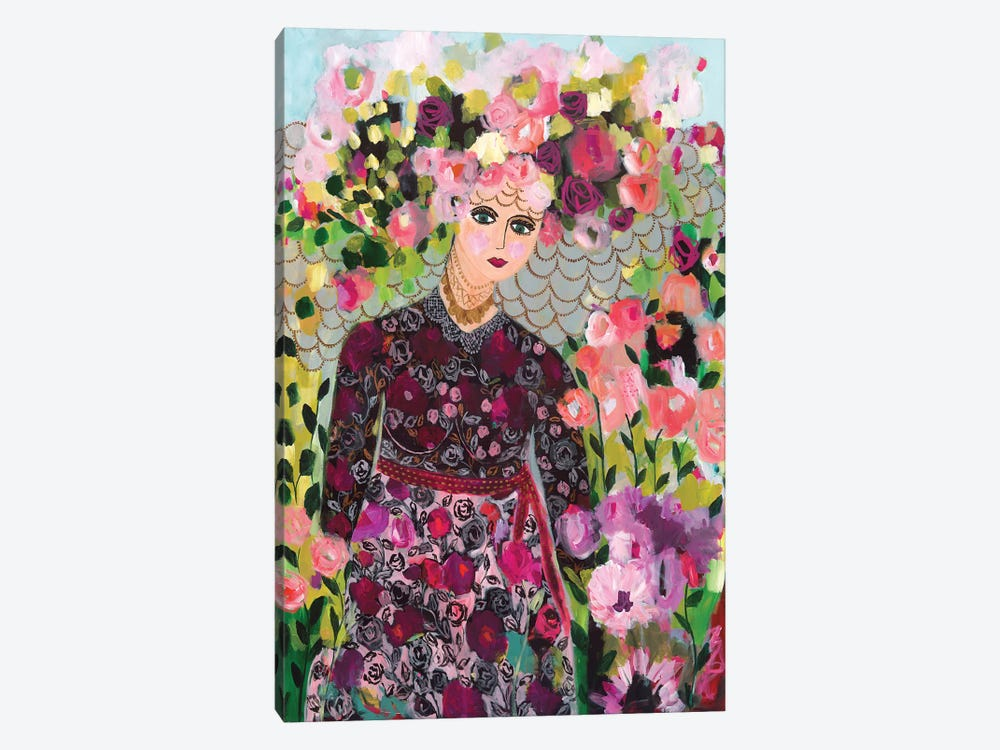 Garden Goddess 1-piece Canvas Print