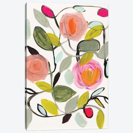 Gina's Home 3-Piece Canvas #SMT62} by Carrie Schmitt Canvas Wall Art
