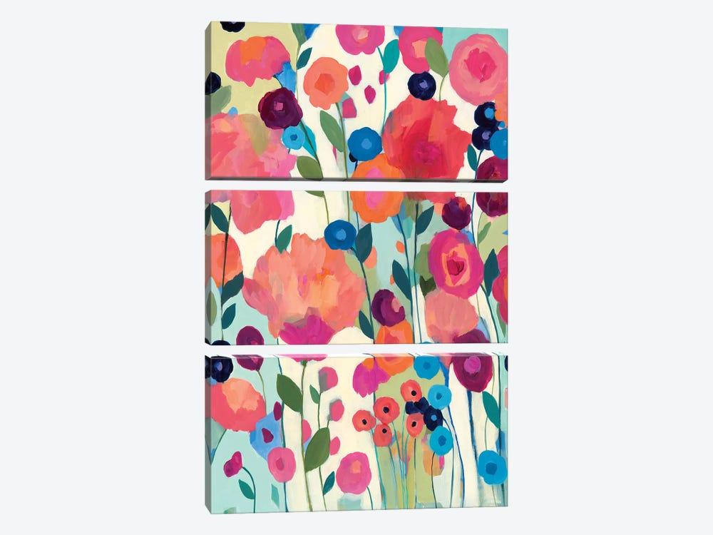 How'd You Get So Pretty by Carrie Schmitt 3-piece Canvas Wall Art