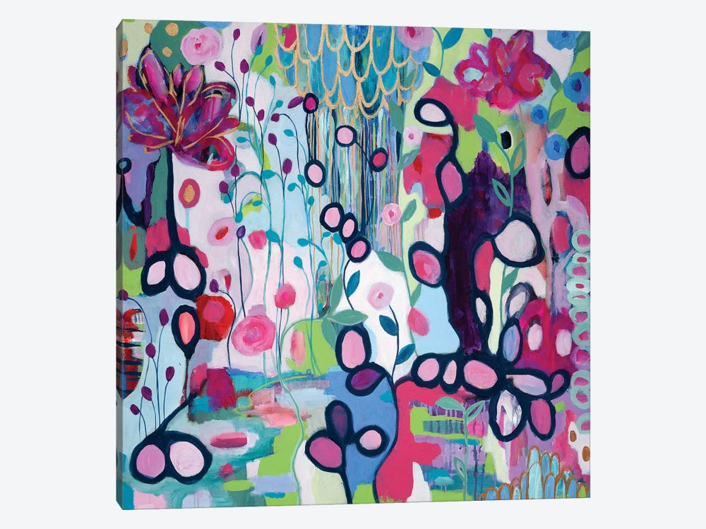 In The Flow by Carrie Schmitt 1-piece Canvas Wall Art