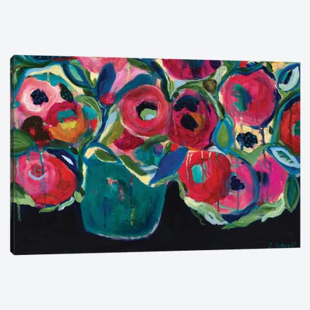 Las Floras 3-Piece Canvas #SMT83} by Carrie Schmitt Canvas Art