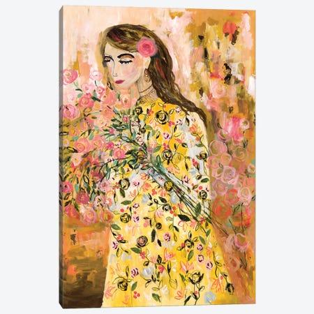 Last Summer Rose Canvas Print #SMT84} by Carrie Schmitt Canvas Print
