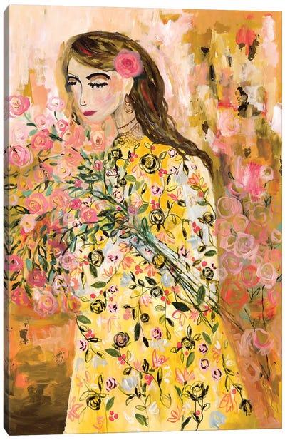 Last Summer Rose Canvas Art Print