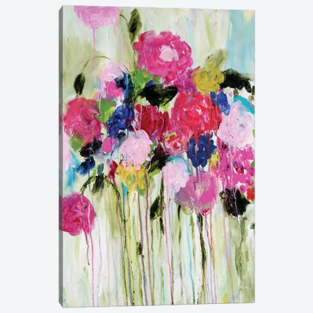 Mi Amor Canvas Print #SMT94} by Carrie Schmitt Canvas Artwork