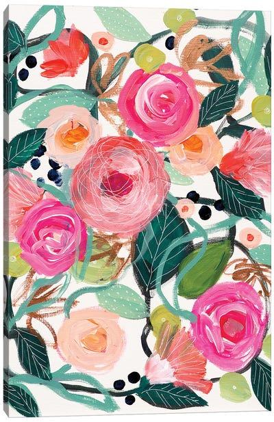 Michelle's Smile Canvas Art Print