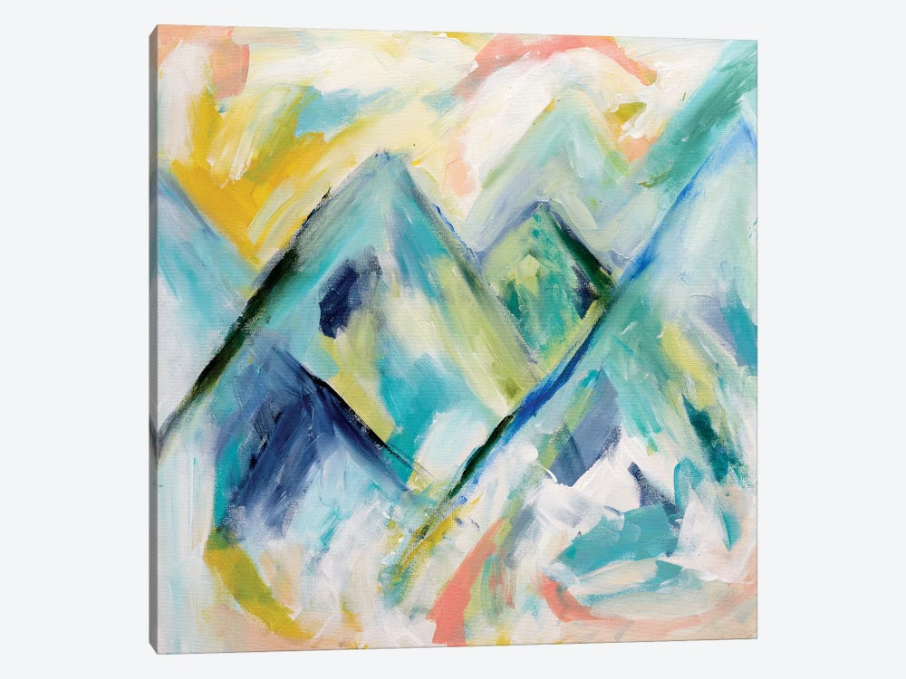 Mile High by Carrie Schmitt 1-piece Canvas Art