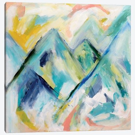 Mile High Canvas Print #SMT98} by Carrie Schmitt Art Print