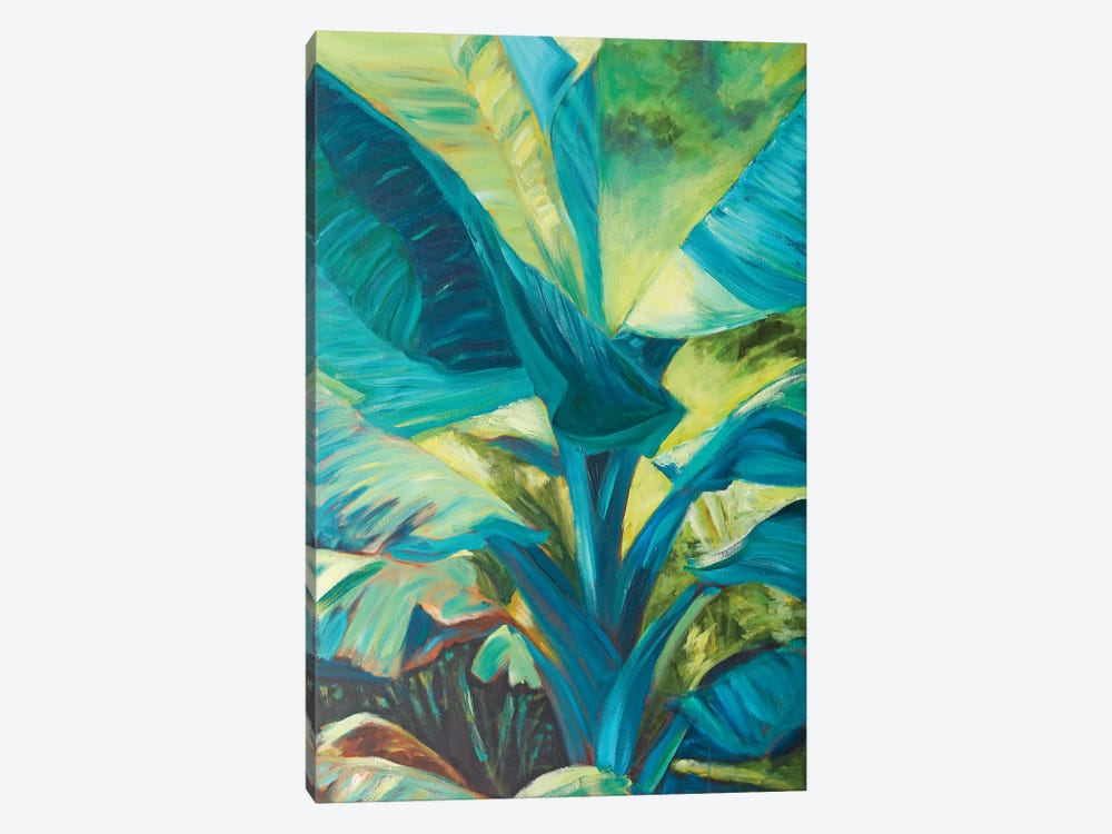 Green Banana Duo I by Suzanne Wilkins 1-piece Canvas Artwork