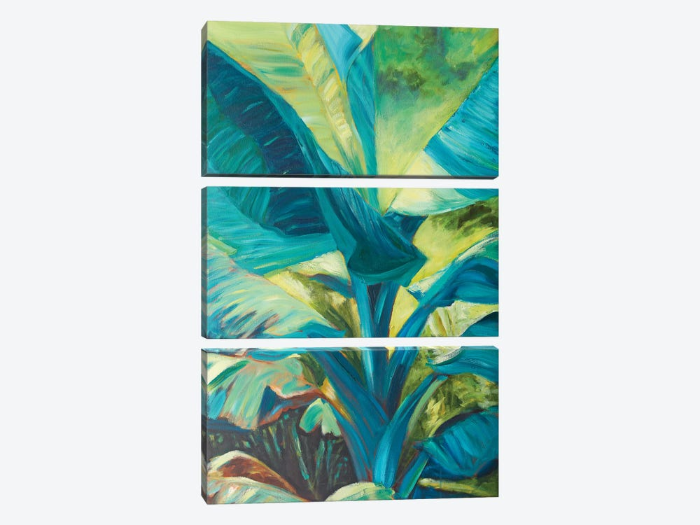 Green Banana Duo I by Suzanne Wilkins 3-piece Canvas Wall Art