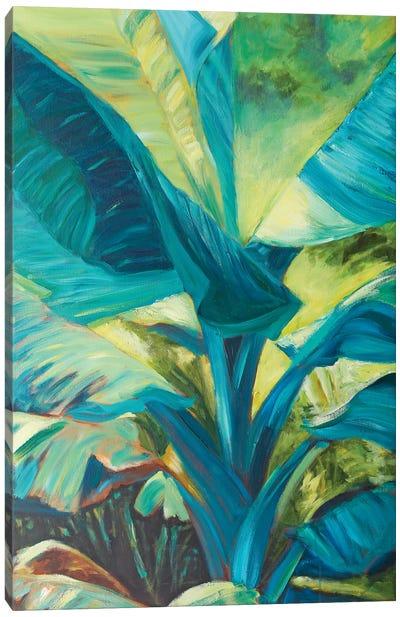 Green Banana Duo I Canvas Art Print