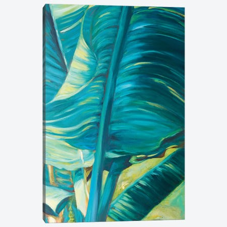 Green Banana Duo II Canvas Print #SMW11} by Suzanne Wilkins Canvas Wall Art