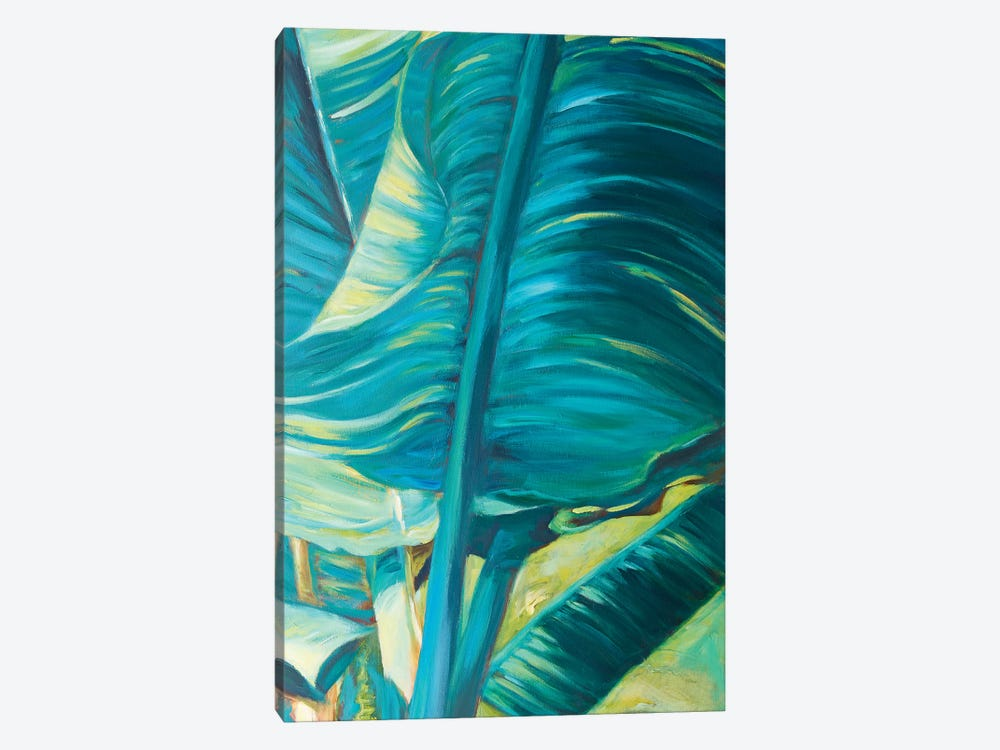 Green Banana Duo II by Suzanne Wilkins 1-piece Canvas Print
