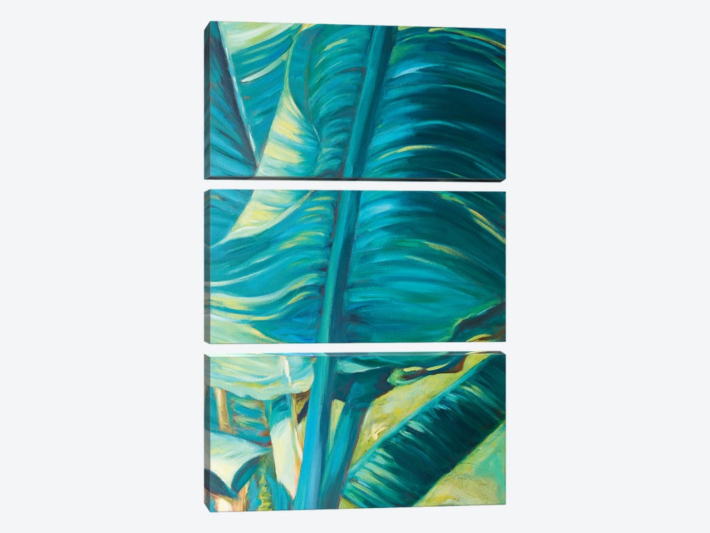 Green Banana Duo II by Suzanne Wilkins 3-piece Canvas Print