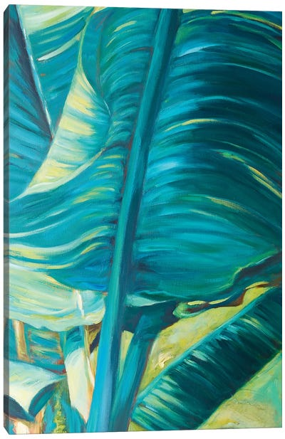 Green Banana Duo II Canvas Art Print