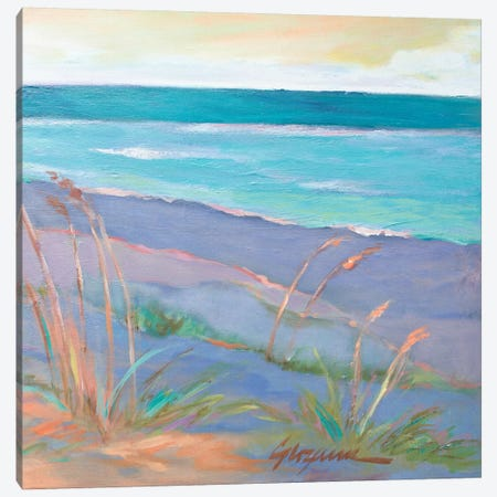 Dunes At Dusk II Canvas Print #SMW13} by Suzanne Wilkins Canvas Wall Art