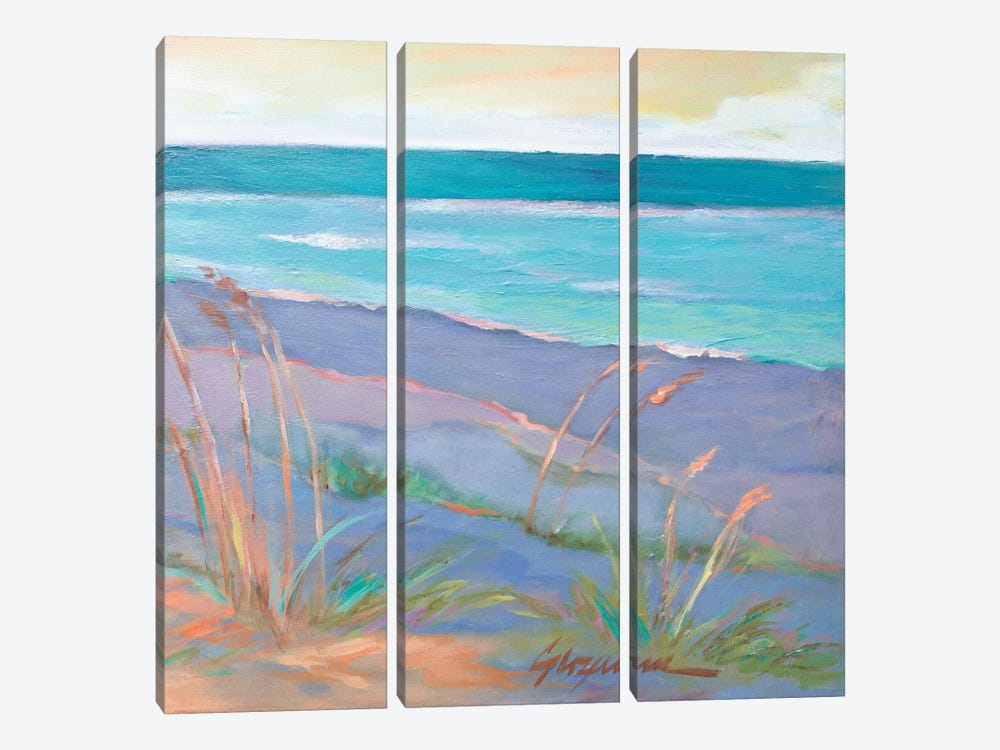 Dunes At Dusk II by Suzanne Wilkins 3-piece Canvas Print