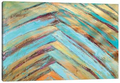 Crazy Fronds Diptych I Canvas Art Print