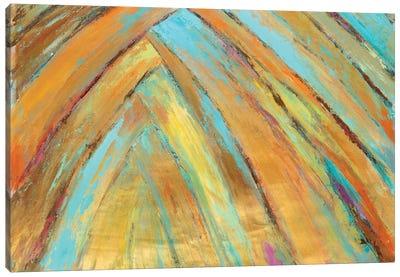 Crazy Fronds Diptych II Canvas Art Print