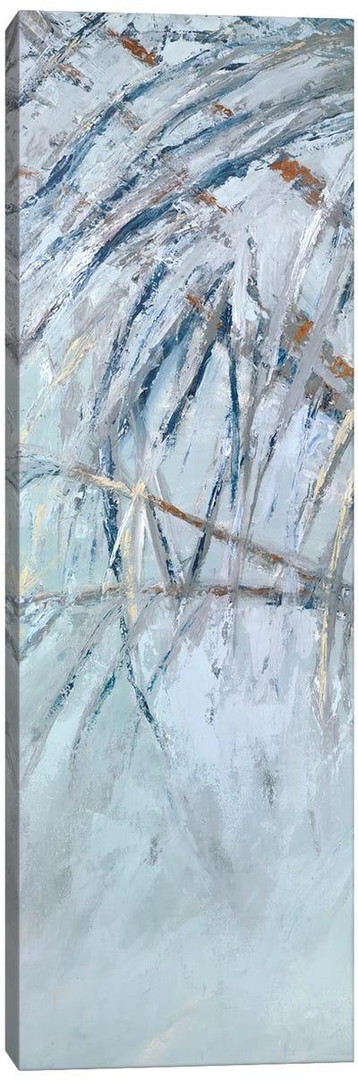 Grey Palms I Canvas Art Print