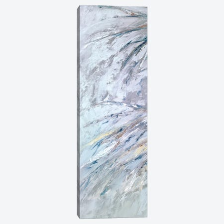 Grey Palms II Canvas Print #SMW17} by Suzanne Wilkins Art Print
