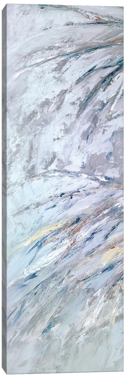 Grey Palms II Canvas Art Print