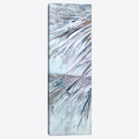 Grey Palms III Canvas Print #SMW18} by Suzanne Wilkins Canvas Artwork