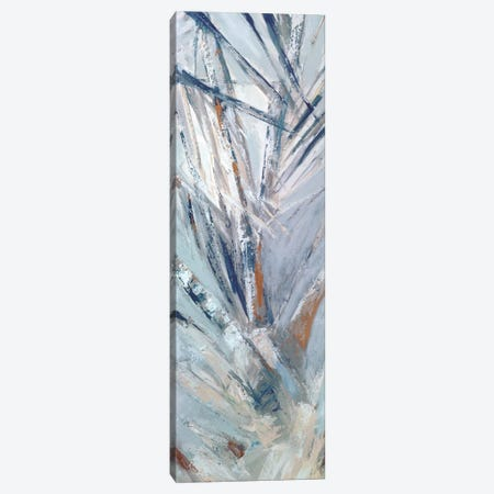 Grey Palms IV Canvas Print #SMW19} by Suzanne Wilkins Canvas Artwork