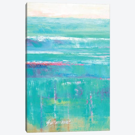 Beneath The Sea I Canvas Print #SMW1} by Suzanne Wilkins Art Print