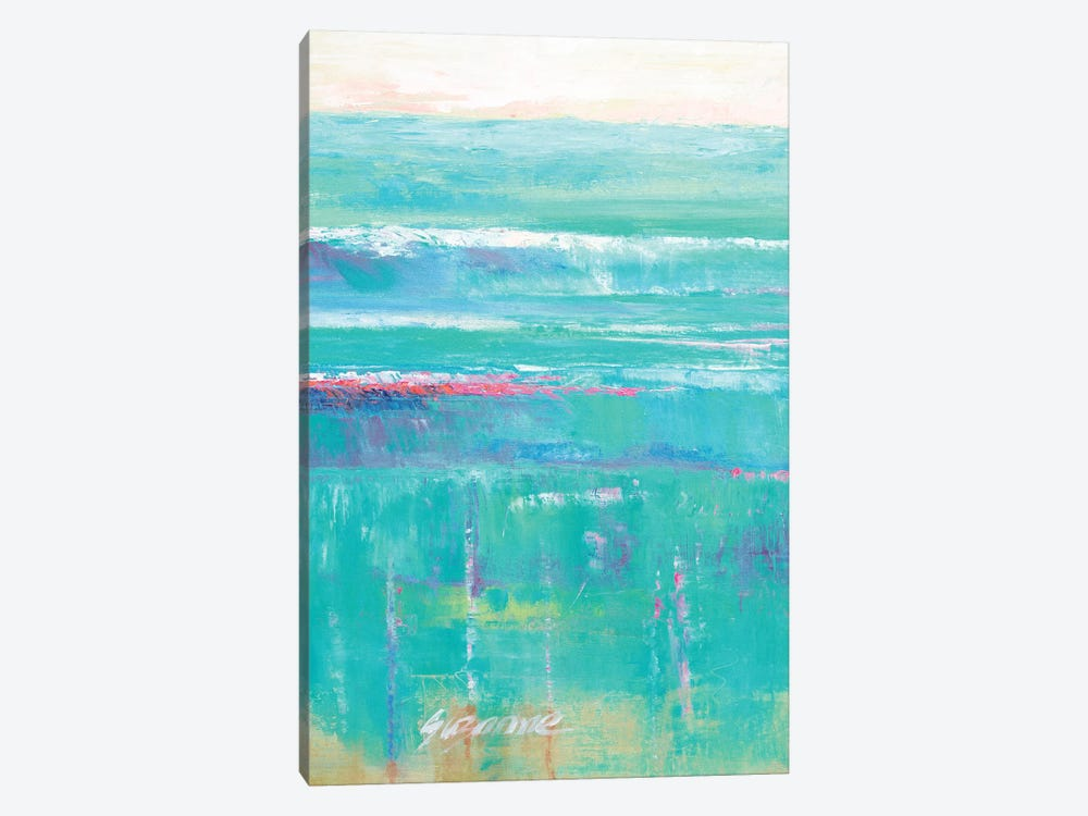 Beneath The Sea I by Suzanne Wilkins 1-piece Canvas Wall Art