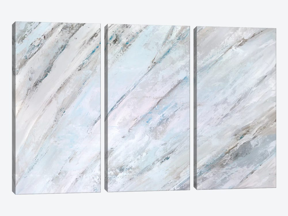 Soft Fronds II by Suzanne Wilkins 3-piece Canvas Artwork