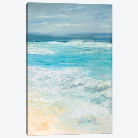 Storm at Sea II Canvas Print #SMW25} by Suzanne Wilkins Canvas Artwork