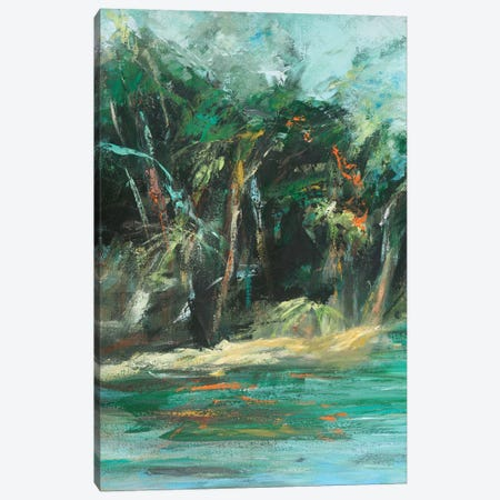 Waterway Jungle I Canvas Print #SMW27} by Suzanne Wilkins Canvas Art