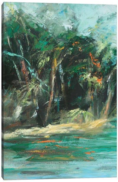 Waterway Jungle I Canvas Art Print