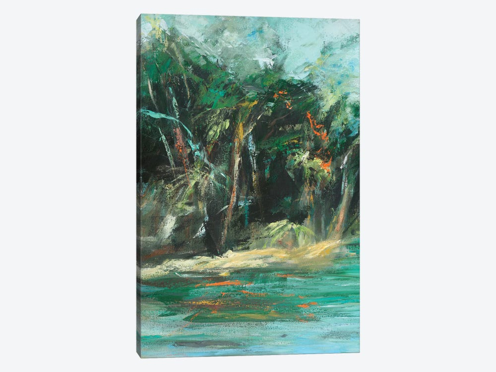 Waterway Jungle I by Suzanne Wilkins 1-piece Canvas Wall Art
