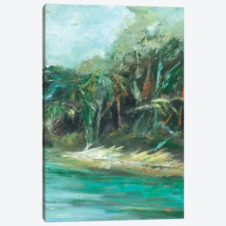 Waterway Jungle II Canvas Print #SMW28} by Suzanne Wilkins Art Print
