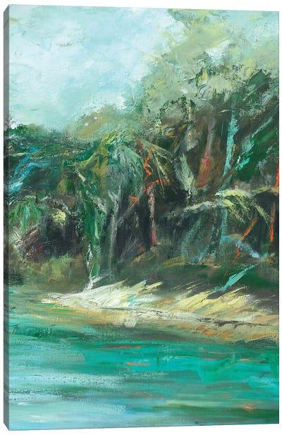 Waterway Jungle II Canvas Art Print