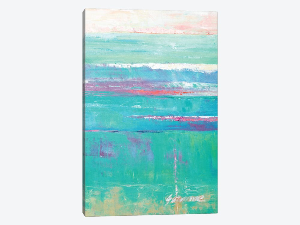 Beneath The Sea II by Suzanne Wilkins 1-piece Canvas Art Print
