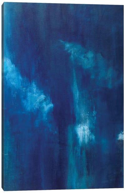 Azul Profundo Triptych III Canvas Art Print