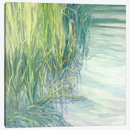 Sweetgrass Canvas Print #SMW36} by Suzanne Wilkins Canvas Art Print