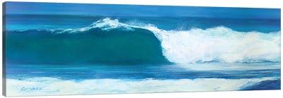 Blue Barrel Canvas Art Print
