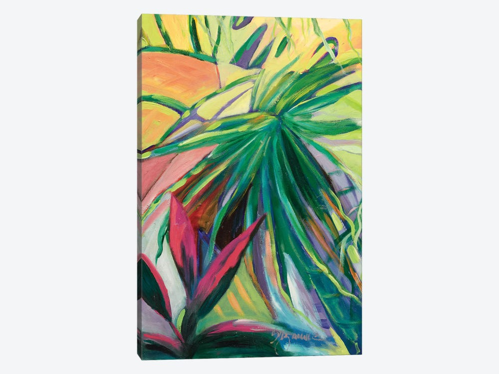 Jardin Abstracto I by Suzanne Wilkins 1-piece Canvas Print