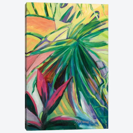 Jardin Abstracto I Canvas Print #SMW4} by Suzanne Wilkins Canvas Art