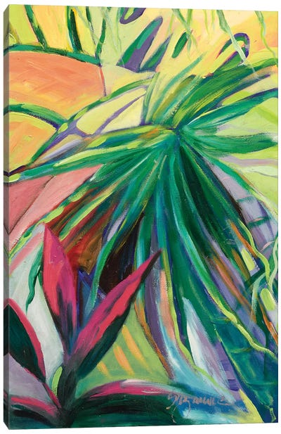 Jardin Abstracto I Canvas Art Print